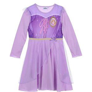 PYJAMA PRINCESSE Chemise de Nuit Violet Fille