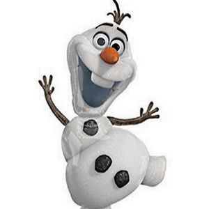 FIGURINE - PERSONNAGE JOUET PERSONNAGE GONFLABLE OLAF REINE DES NEIGES F