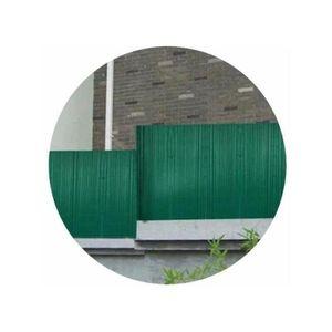 CLÔTURE - GRILLAGE Canisse PVC vert H 1,80m X 3m