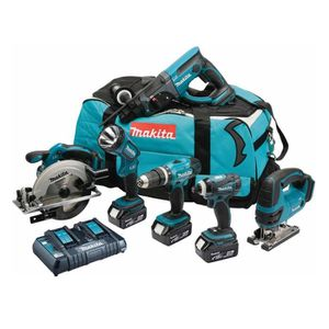 PACK DE MACHINES OUTIL MAKITA Pack 6 machines DLX6017PM avec 3 batteries