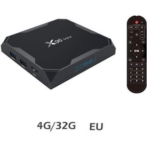 BOX MULTIMEDIA X96 Max Android 8.1 TV Box,iptv box, Décodeur TV s