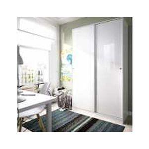 ARMOIRE DE CHAMBRE Armoire avec 2 portes coulissantes coloris blanc b