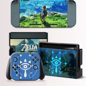 STICKER - SKIN CONSOLE Jeux Nintendo Switch Peaux Console The Legend of Z