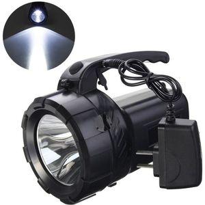 LAMPE DE POCHE TEMPSA LED Lampe de Poche Rechargeable - 10W Torch