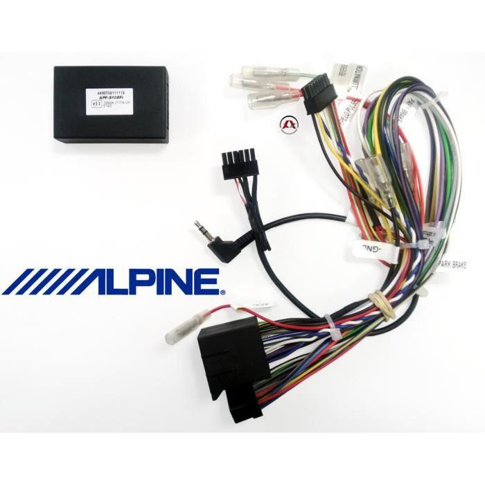 APF-S105FI - Interface commande au volant - Fia…