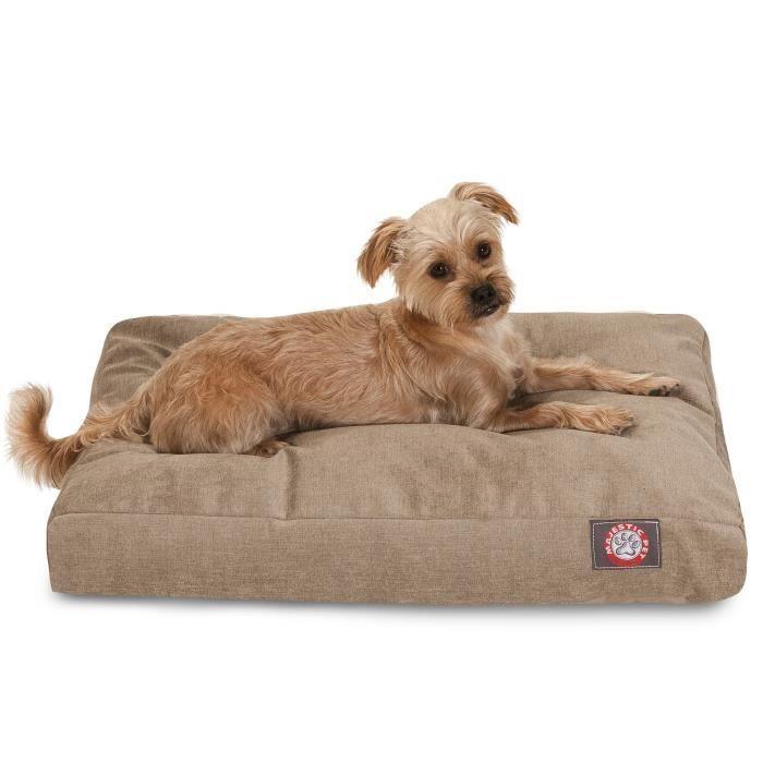 Majestic Pet Villa Rectangle Pillow Pet Bed KNZ9U