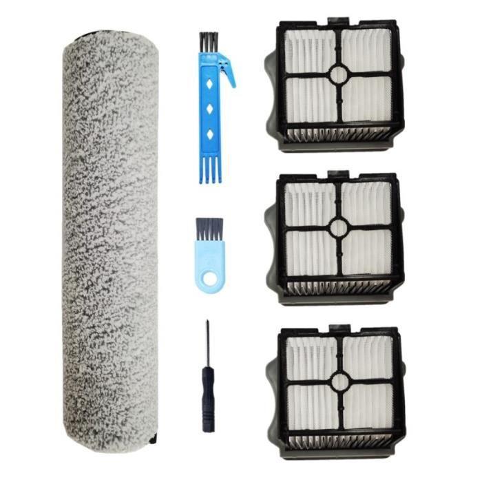 Kit d'accessoires pour aspirateur Robot TINECO iFLOOR One S3 iFLOOR3, brosse à rouleau, filtre Hepa, pièces de rechange, [4A3E17B]