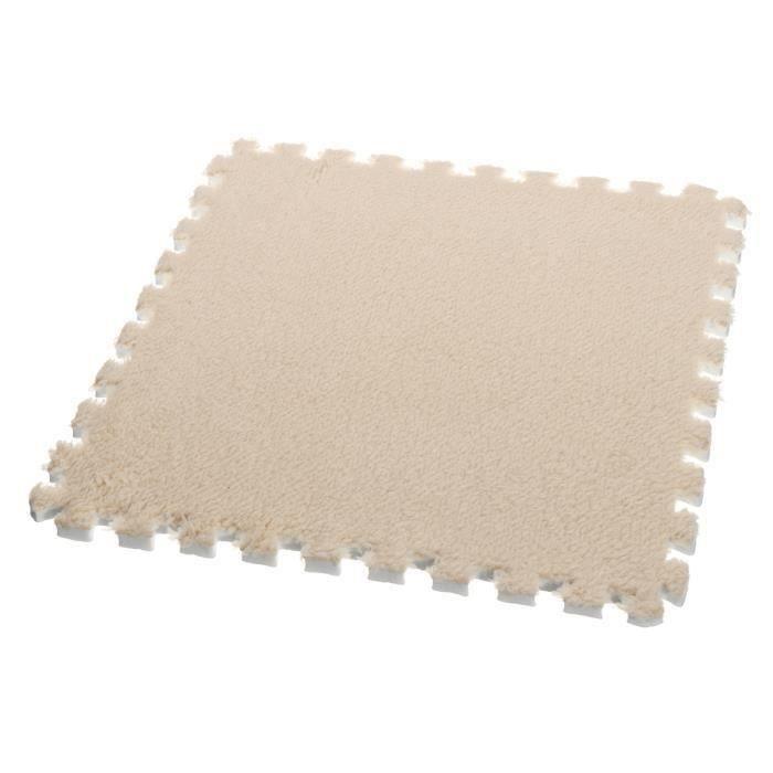 TEMPSA Tapis de sol en mousse EVA 30x30x1cm brun