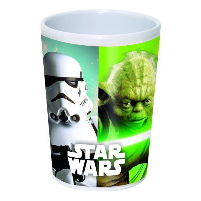 Verre en plastique mélaminé Star Wars 200 ml