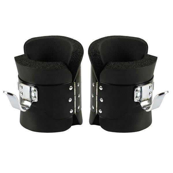Bottes d'Inversion Yatek anti-gravité de couleur noir, ajustement sûr, et parfaites pour les exercices du dos