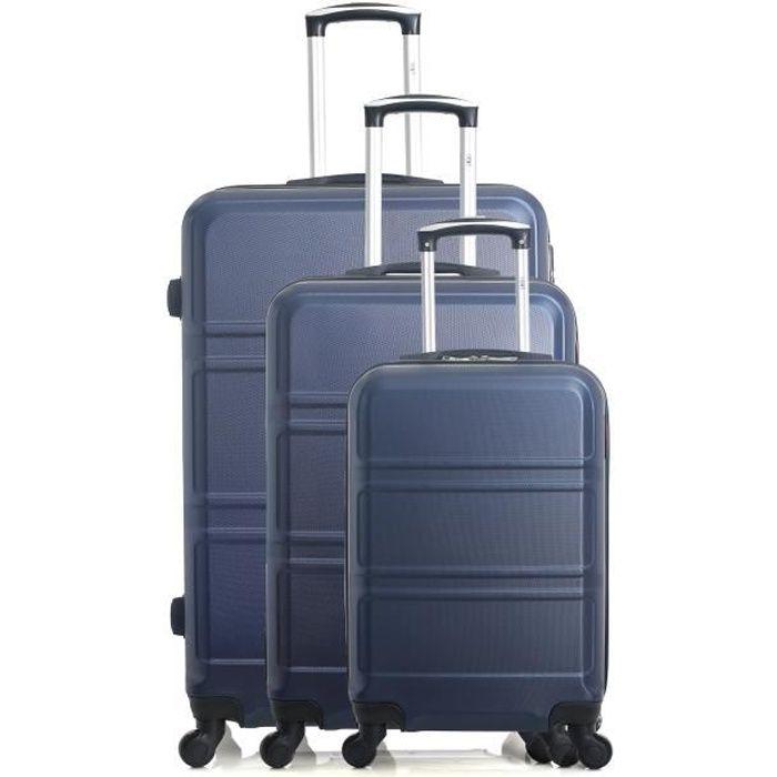 Set de 3 valises UTAH marine