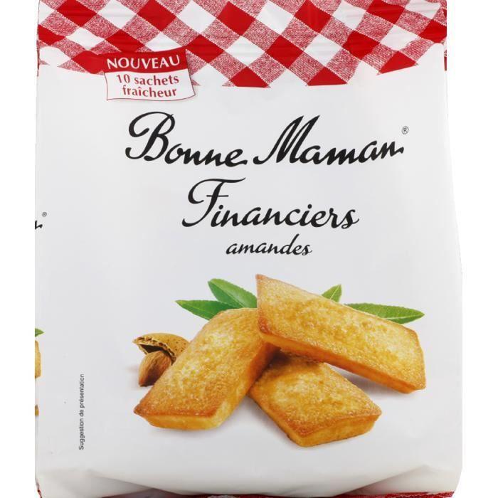 BONNE MAMAN Financiers Amandes - 250 g