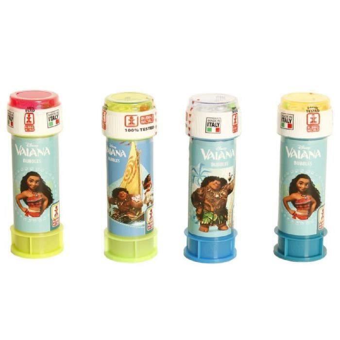 VAIANA - Lot de flacons bulle de savon 60 ml Moana Disney