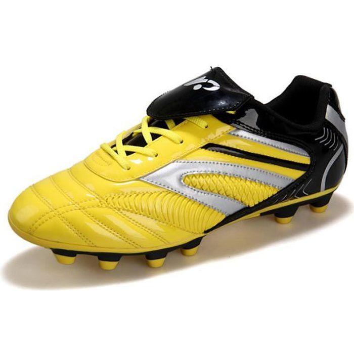 Chaussures et crampons de football adultes et enfants Chaussures de football Adolescents Chaussures de Foot en Plein Air Unisexe