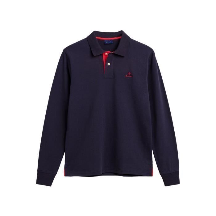 Gant Polo Manches Longues Homme 2055003-901