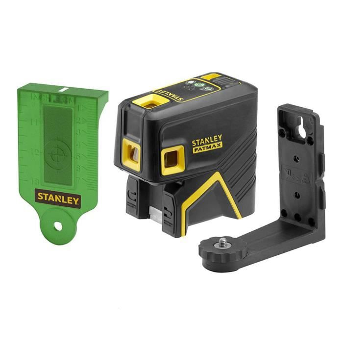 Stanley FMHT1-77437 FATMAX Laser autonivelant 5 points ± 3mm / 10m vert avec sacoche