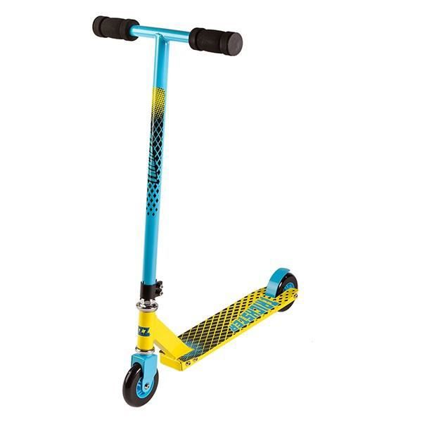 Trottinette Street Surfing Stunt Scooter - Trickster Yellow Blue