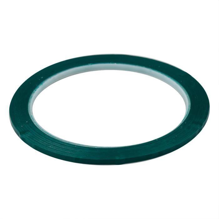TRIXES Ruban adhésif vert de 40m pour tableau blanc