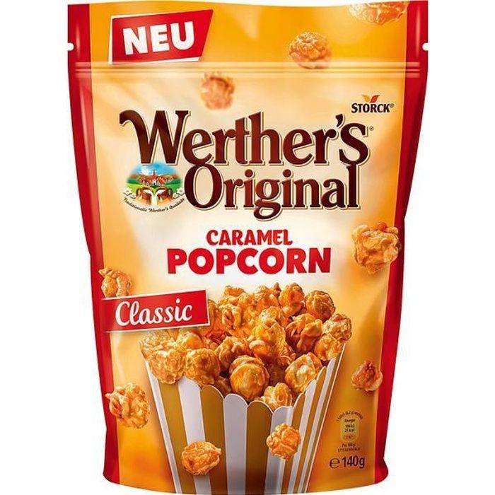 Werthers Original Caramel Popcorn Classic 140g (Pack de 6)