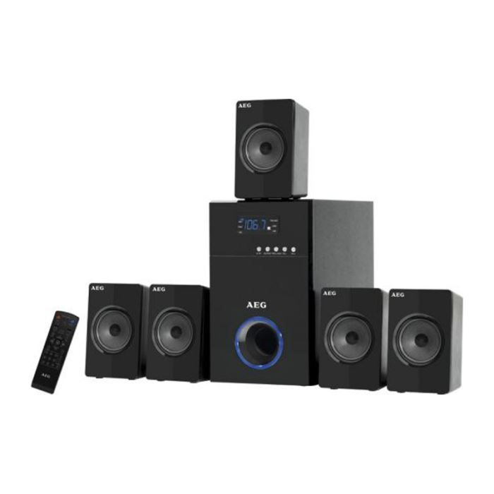 syst me surround 5 1 home cinema enceintes aeg sl ensemble home cin ma avis et prix pas cher. Black Bedroom Furniture Sets. Home Design Ideas