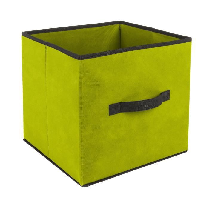 cube de rangement vert achat vente cube de rangement. Black Bedroom Furniture Sets. Home Design Ideas