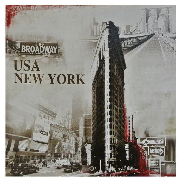 Tableau toile new york vintage usa times square achat vente tableau to - Tableau toile new york ...