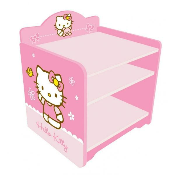 Table de chevet hello kitty for Table de chevet bebe