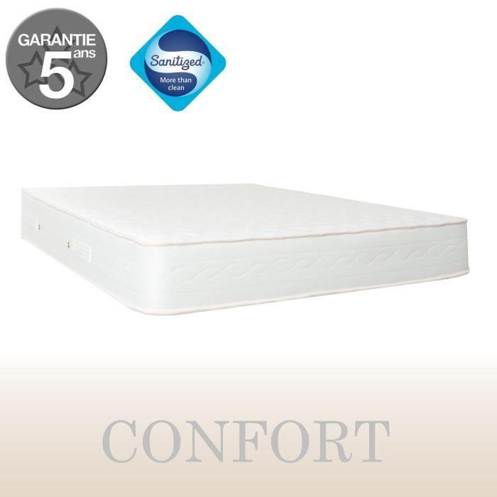 MATELAS NIGHT & PURE - Matelas confort 160x200 cm - 18 cm