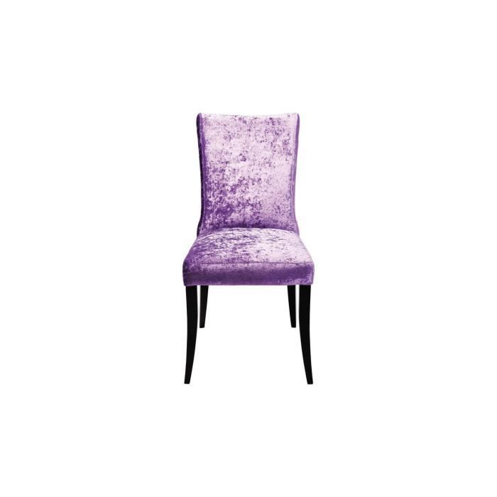chaise cintura violette achat vente chaise polyester. Black Bedroom Furniture Sets. Home Design Ideas