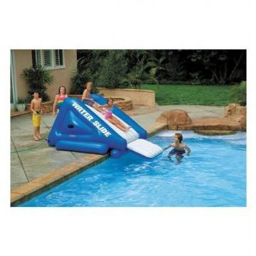 Toboggan pour piscine enterr e intex achat vente jeux for Toboggan intex piscine