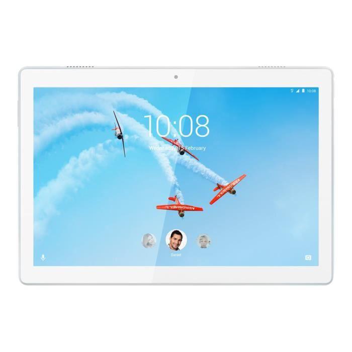 TABLETTE TACTILE Lenovo Tab M10 ZA48 Tablette Android 8.0 (Oreo) 16