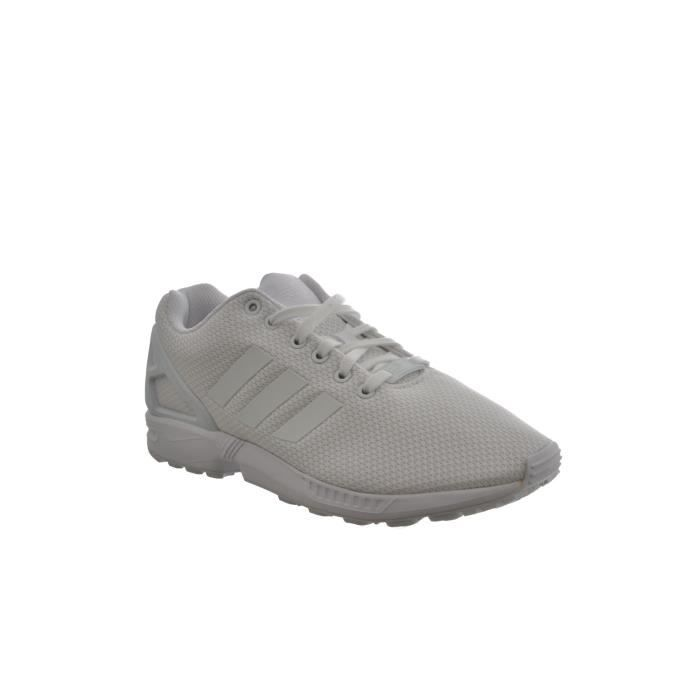baskets mode adidas originals zx flux blanc P4ECq