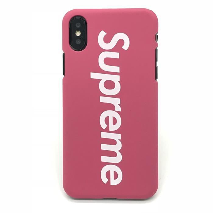 coque iphone x rose apple