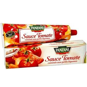 Panzani sauce tomate cuisin e l gumes en tube 180g achat for Sauce tomate cuisinee