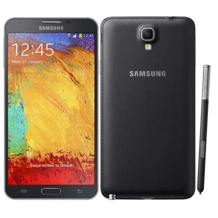 telephonie telephone mobile galaxy note  go g reconditionne noir tout oper f sam