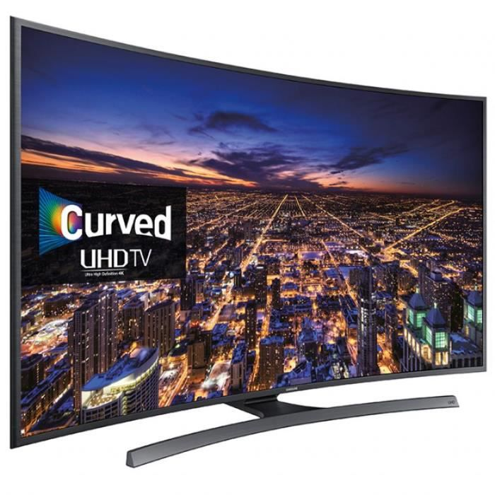 tv led samsung 4k ue48ju6500 incurve 121 cm t l viseur led avis et prix pas cher cdiscount. Black Bedroom Furniture Sets. Home Design Ideas