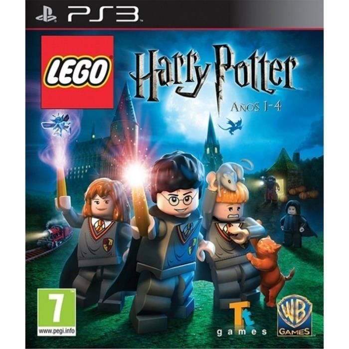 JEU PS3 Lego Harry Potter: Years 1-4 PS3 - 119006