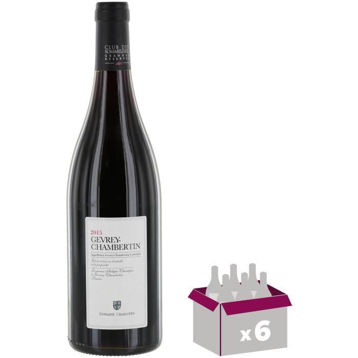 Domaine Charlopin 2014 Gevrey-Chambertin - Vin rouge de Bourgogne x6