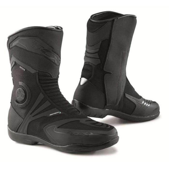 TCX bottes moto Airtech Evo Gore tex noir