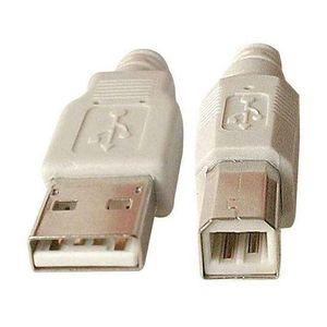 CÂBLE INFORMATIQUE Cdiscount Câble USB 2.0 AB M/M 1.8 mètres