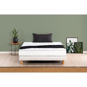 ENSEMBLE LITERIE DEKO DREAM Ensemble matelas + sommier 140 x 190 -