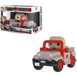 FIGURINE - PERSONNAGE Figurine POP Ride - Jurassic Park Park Vehicle