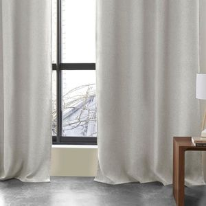 RIDEAU Rideau occultant Lino - 140 x 260 cm - Polyester -