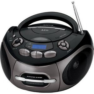 RADIO CD CASSETTE AEG SR 4366 Radio Cassette Stéréo avec Lecteur CD