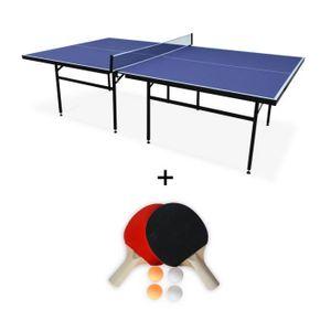 TABLE TENNIS DE TABLE Table de ping pong INDOOR bleue Nagano- table avec