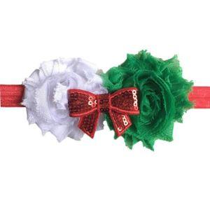 BANDEAU - SERRE-TÊTE Noël pour enfants élastiques floraux Bandeau cheve