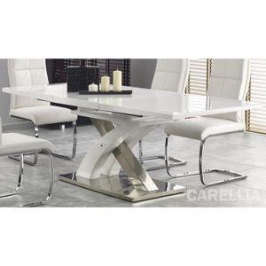 TABLE À MANGER SEULE TABLE A MANGER EXTENSIBLE DESIGN 160÷220/90/75 CM