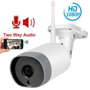 CAMÉRA IP 1080P 2MP HD ONVIF audio bidirectionnel extérieur
