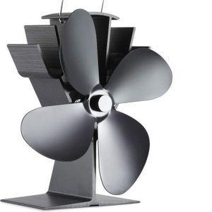 POÊLE À BOIS Ventilateur pour Poêle à 4 pales - Silencieux Alim