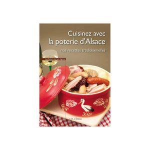 LIVRE CUISINE TRADI Cuisinez avec la Poterie d'Alsace